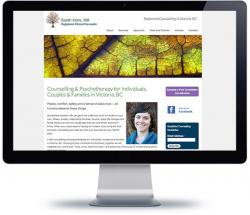 victoria web design for counselling