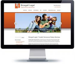 affordable drupal cms web design for Vancouver law firm