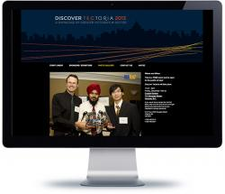 affordable drupal cms web design for Victoria Advanced Technology Council