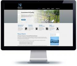 affordable cms web design for industrial and utility company, Vancouver Island
