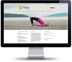 victoria web design for Saanich Peninsula Yoga Centre