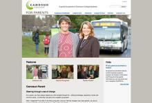 affordable drupal cms web design for Camosun College, Vancouver Island