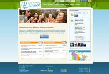 affordable drupal cms web design for outdoor education community