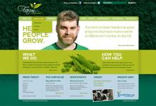 affordable drupal cms web design for The Farm At Cedar Woods, Nanaimo, BC