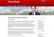 affordable drupal cms web design for Deputy Mayor office, Ontario