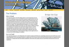 affordable drupal cms web design for Victoria Blue Bridge
