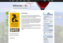 affordable drupal cms web design for B.C. Wineries