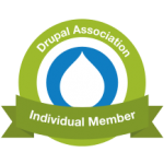Drupal.org annual member - web developer